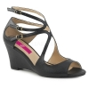 KIMBERLY - 04 Black Faux Leather